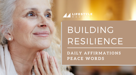 Daily Affirmations and Peace Words